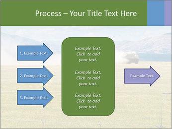 Truck spreading fertilizer PowerPoint Template - Slide 85
