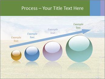 Truck spreading fertilizer PowerPoint Template - Slide 87