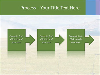 Truck spreading fertilizer PowerPoint Template - Slide 88