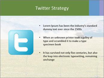 Truck spreading fertilizer PowerPoint Template - Slide 9