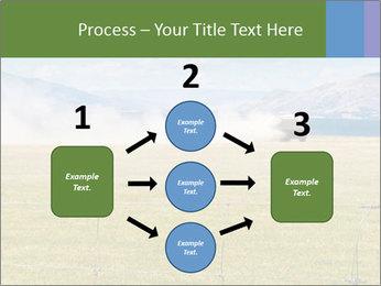 Truck spreading fertilizer PowerPoint Template - Slide 92