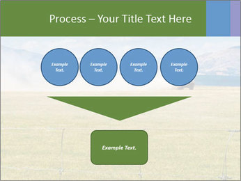 Truck spreading fertilizer PowerPoint Template - Slide 93