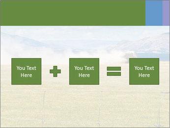 Truck spreading fertilizer PowerPoint Template - Slide 95