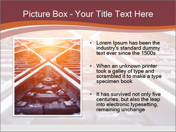 Railway PowerPoint Templates - Slide 13