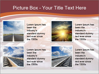 Railway PowerPoint Templates - Slide 14