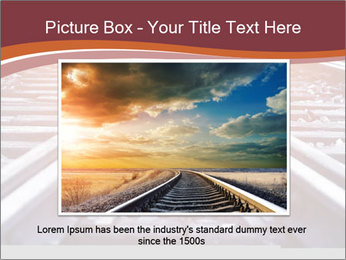 Railway PowerPoint Template - Slide 15