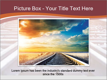 Railway PowerPoint Template - Slide 16