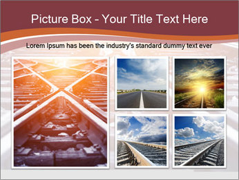 Railway PowerPoint Templates - Slide 19