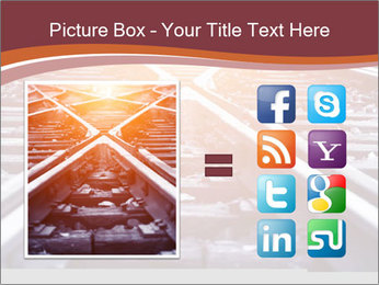 Railway PowerPoint Templates - Slide 21