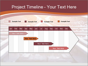 Railway PowerPoint Template - Slide 25