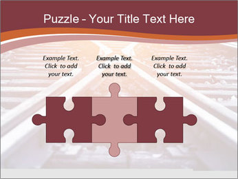 Railway PowerPoint Template - Slide 42