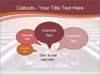 Railway PowerPoint Template - Slide 73