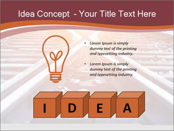 Railway PowerPoint Template - Slide 80