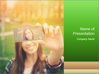 Sign PowerPoint Template - Slide 1
