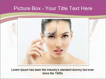 A beauty girl PowerPoint Templates - Slide 15
