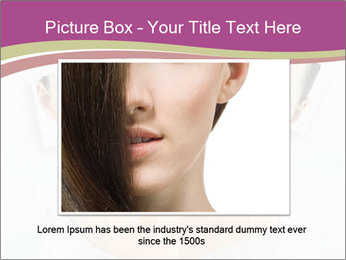 A beauty girl PowerPoint Template - Slide 16