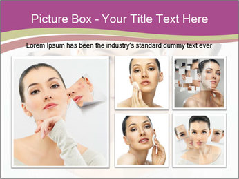 A beauty girl PowerPoint Template - Slide 19