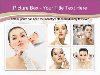A beauty girl PowerPoint Templates - Slide 19
