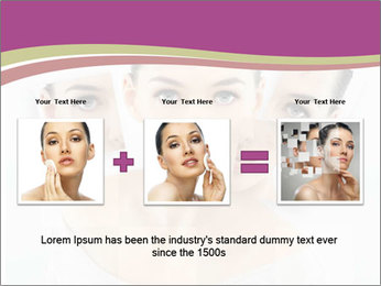 A beauty girl PowerPoint Template - Slide 22