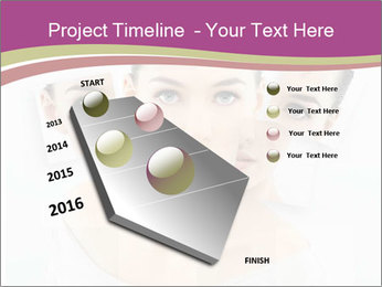 A beauty girl PowerPoint Template - Slide 26