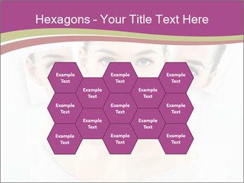 A beauty girl PowerPoint Templates - Slide 44