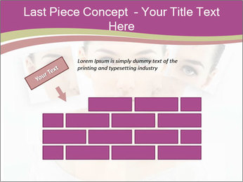 A beauty girl PowerPoint Templates - Slide 46