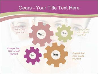 A beauty girl PowerPoint Templates - Slide 47