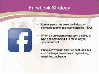 A beauty girl PowerPoint Templates - Slide 6