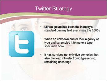 A beauty girl PowerPoint Templates - Slide 9