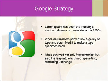 Woman looking far PowerPoint Templates - Slide 10