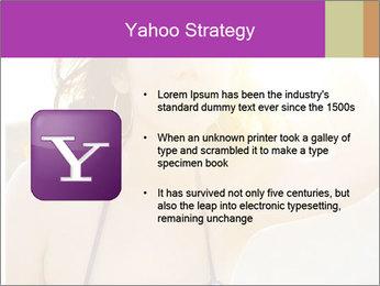 Woman looking far PowerPoint Templates - Slide 11