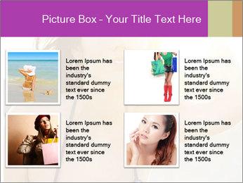 Woman looking far PowerPoint Templates - Slide 14