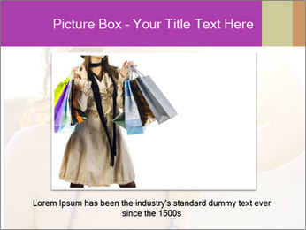 Woman looking far PowerPoint Templates - Slide 16