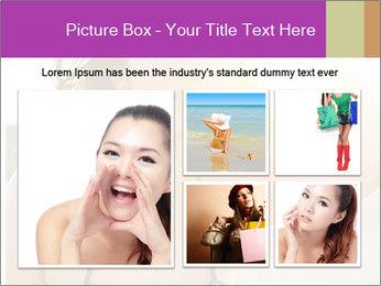 Woman looking far PowerPoint Templates - Slide 19