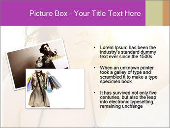 Woman looking far PowerPoint Templates - Slide 20