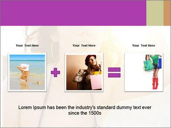 Woman looking far PowerPoint Templates - Slide 22