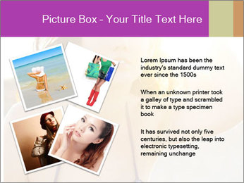 Woman looking far PowerPoint Templates - Slide 23