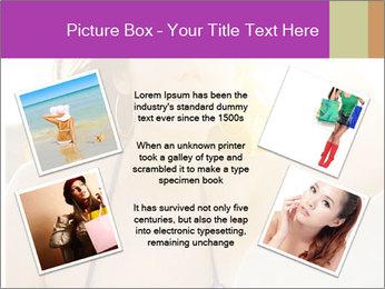 Woman looking far PowerPoint Templates - Slide 24
