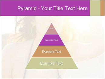 Woman looking far PowerPoint Templates - Slide 30