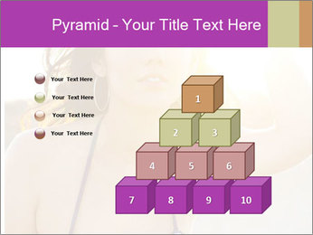 Woman looking far PowerPoint Templates - Slide 31