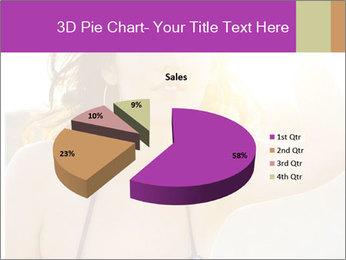 Woman looking far PowerPoint Templates - Slide 35
