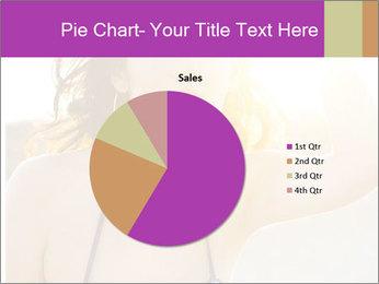 Woman looking far PowerPoint Templates - Slide 36