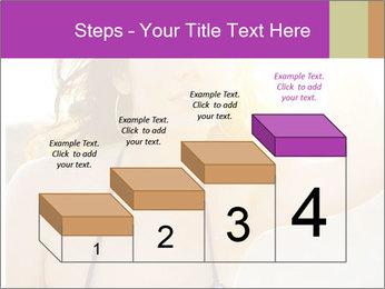 Woman looking far PowerPoint Templates - Slide 64