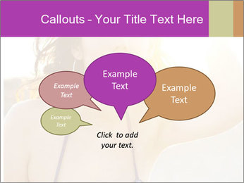 Woman looking far PowerPoint Templates - Slide 73