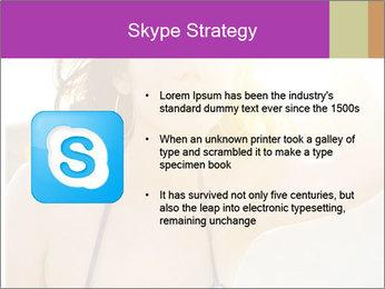 Woman looking far PowerPoint Templates - Slide 8