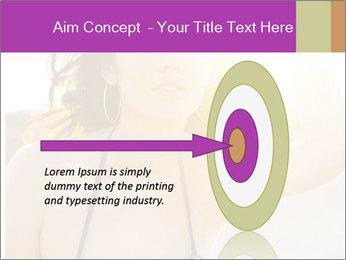 Woman looking far PowerPoint Templates - Slide 83