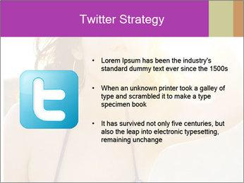 Woman looking far PowerPoint Templates - Slide 9