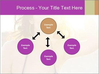 Woman looking far PowerPoint Templates - Slide 91