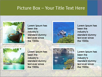 Boat on capri island PowerPoint Templates - Slide 14