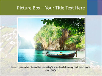 Boat on capri island PowerPoint Templates - Slide 15